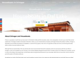 houseboatsinsrinagar.com