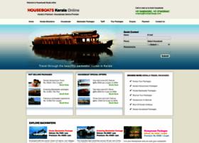 houseboatskeralaonline.com
