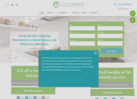 housecleaningbycustommaid.com