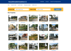 houseforsaletrivandrum.in