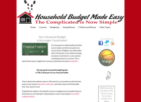 household-budget-made-easy.com