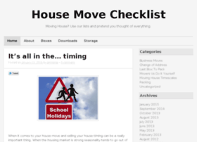 housemovechecklist.co.uk