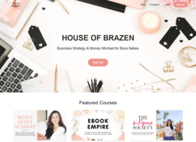 houseofbrazen.teachable.com