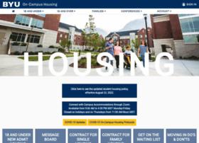 housing.byu.edu