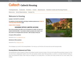 Housing.caltech.edu