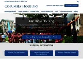housing.columbia.edu