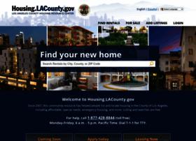 Housing.lacounty.gov