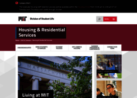 housing.mit.edu