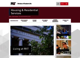 housing.mit.edu