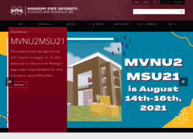 housing.msstate.edu
