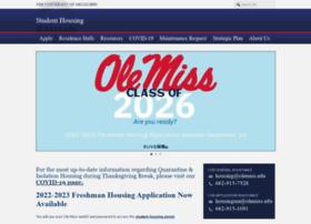housing.olemiss.edu