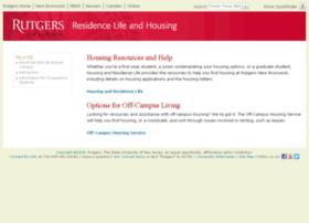 housing.rutgers.edu