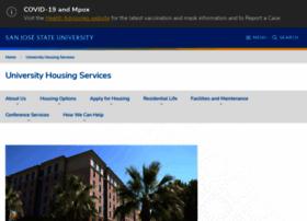 housing.sjsu.edu