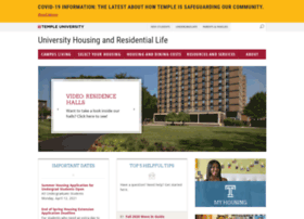 housing.temple.edu