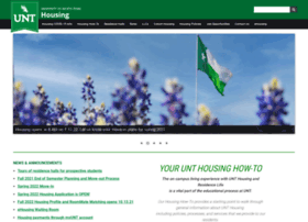 housing.unt.edu