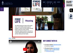 housing.utoronto.ca