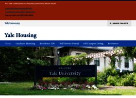 housing.yale.edu
