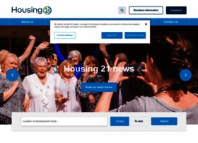 housing21.co.uk