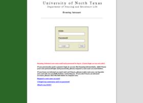 housingintranet.unt.edu
