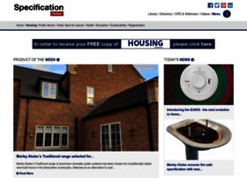 housingspecification.com