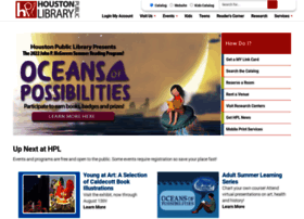houstonlibrary.org