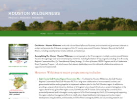 houstonwilderness.org
