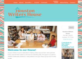 houstonwritershouse.com