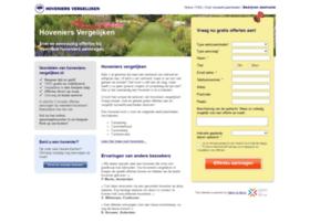 hoveniers-vergelijken.nl