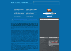 how-to-burn-fat-faster.blogspot.com