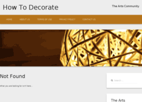 how-to-decorate.net