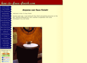 how-to-faux-finish.com