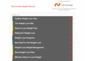 how-to-lose-weight-fast.biz