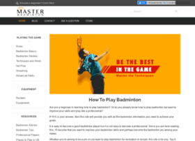 How-to-play-badminton.com