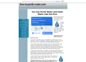 how-to-purify-water.com