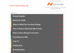 how-to-save-energy.org