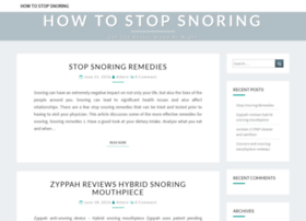 how-to-stop-snoring.com