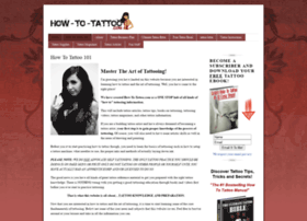 how-to-tattoo.com