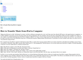 how-to-transfer-music-from-ipod-to-computer.blu-ray-software.net