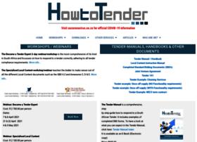 how2tender.com