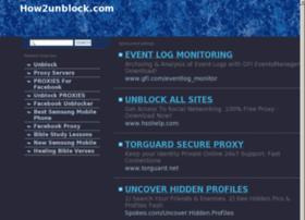 how2unblock.com