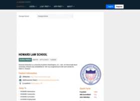 howard.lawschoolnumbers.com