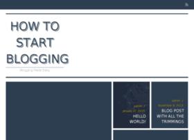 howcanistartblogging.com
