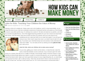 howcankidsmakemoney.net