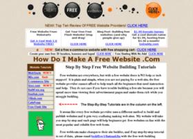 howdoimakeafreewebsite.com