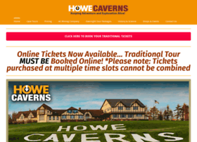 howecaverns.com