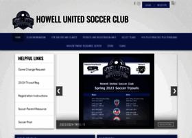 howellunitedsoccer.com