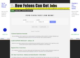 howfelonscangetjobs.com