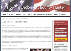 howtobecomeabountyhunter.com