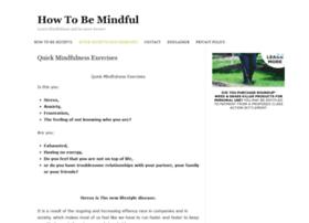 howtobemindful.mindfulnesstrainingforall.com