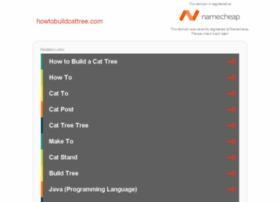 howtobuildcattree.com